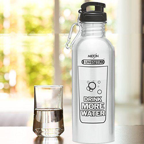 Milton Virtue Stainless Steel Fridge Water Bottle 750ml, Silver