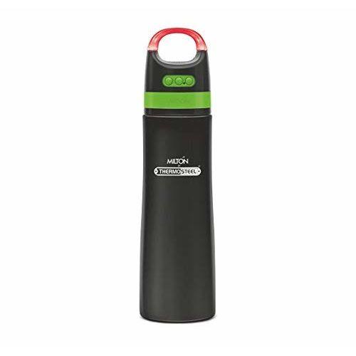 Milton Thermosteel Boom 900ml Water Bottle Blue Tooth Wireless Speaker (New)