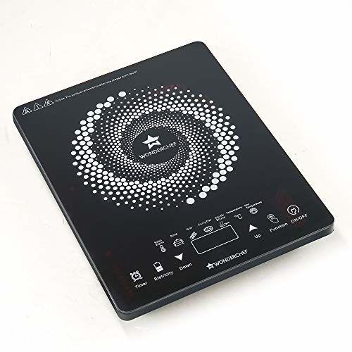 Wonderchef Easy Cook 2200-Watt Induction Cooktop (Black)