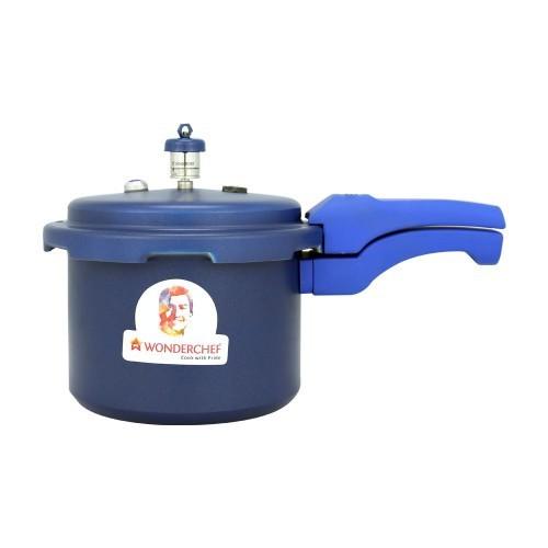 Wonderchef Health Guard Aluminium Pressure Cooker, 3 litres, Blue