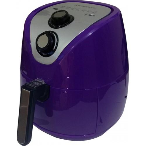 Wonderchef Prato Premium Air Fryer (2.5L), With Detachable Basket And Handle, 1500 Watt (Purple) Air Fryer(2.5 L)