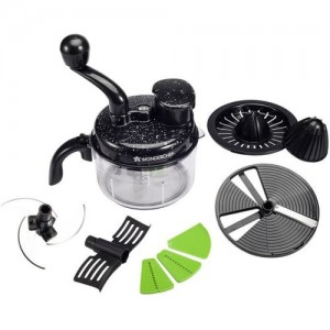 Wonderchef Turbo Chopper & Food Processor Vegetable Chopper(Food processor(1 unit))