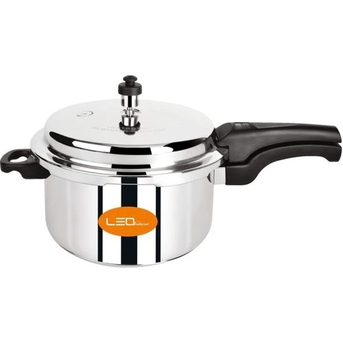 Leo Natura 5 L Induction Bottom Pressure Cooker(Stainless Steel)