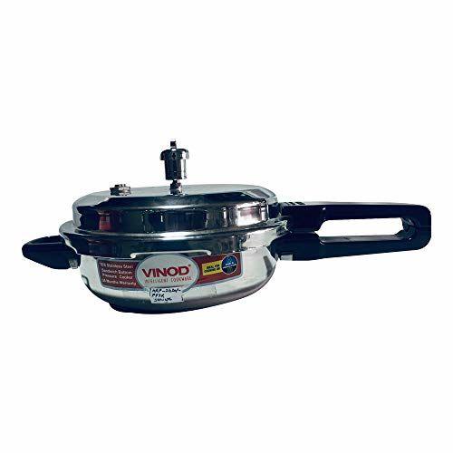 Vinod Standard Shape Sandwich Bottom Pressure Pan