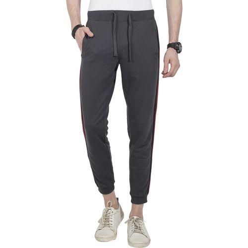 Alan Jones Solid Men Grey Track Pants