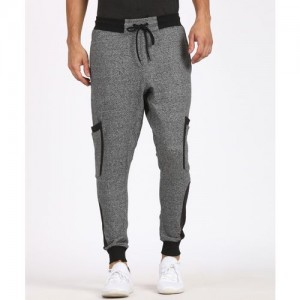 SKULT By Shahid Kapoor Solid Men's Grey Track Pants