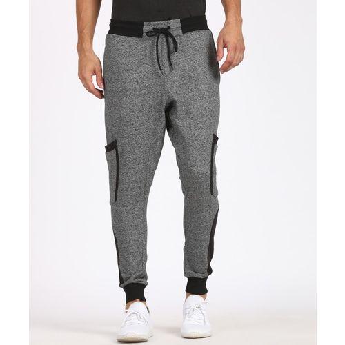 SKULT By Shahid Kapoor Solid Men's Grey Track Pants