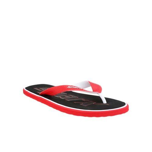 Sparx Red & Black Flip Flops