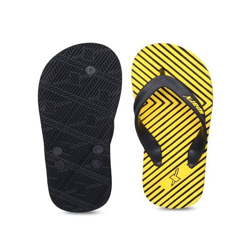 Sparx Yellow & Black Flip Flops
