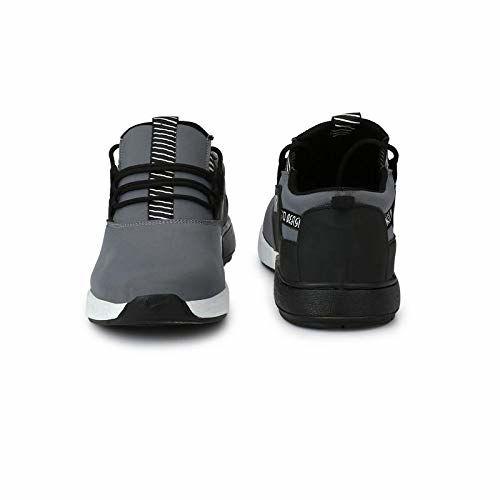 White walkers Men's Mesh Sports Running Shoes Grey