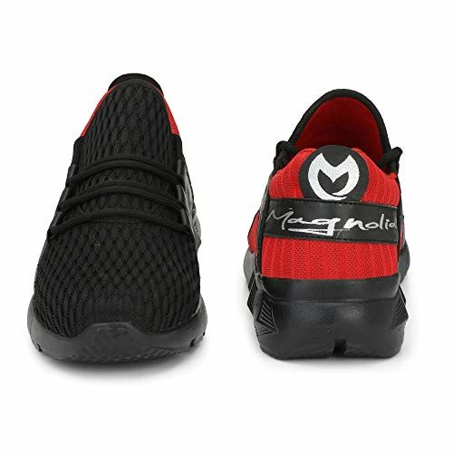 Magnolia Black Sport Shoes for Men