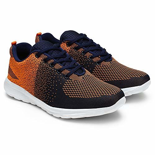 BUWCH MEN'S ORANGE SPORTS SHOE