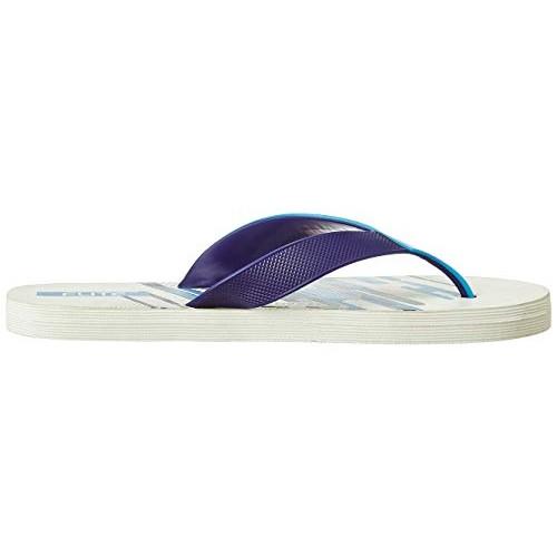 FLITE Men's White Flip Flops Thong Sandals