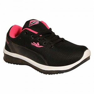 TOPGEAR Looks and Feel Comfort with EVA-TPL-02 Shoes from (A Unit of Columbus) Black/Pink