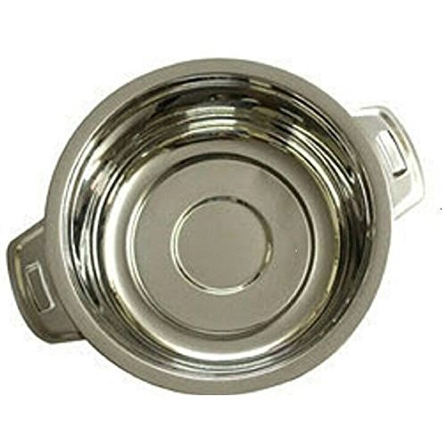 Kuber Industries Casserole/Hotpot,Chapati Box/Chapati Container/Hot Case In Stainless Steel Material 3500 Ml (Casserole33)