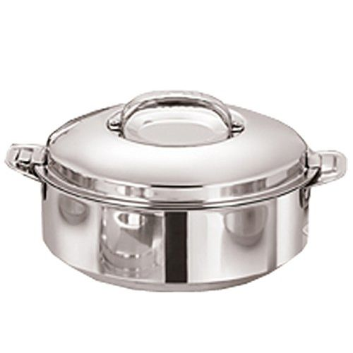 Kuber Industries Casserole/HotPot,chapati Box/chapati Container/hot case in High Quality Stainless Steel Material 2500 ML (CASSEROLE17)