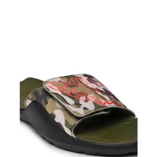 uk availability 10cdc aa310 Buy Nike Men Olive Green JORDAN HYDRO 7 Sliders online ...