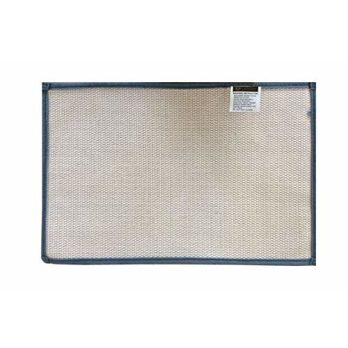 Lushomes Blue Thick and Fluffy 1800 GSM bathmat with High Pile Microfiber with Synthetic Backing, Super Absorbent (16