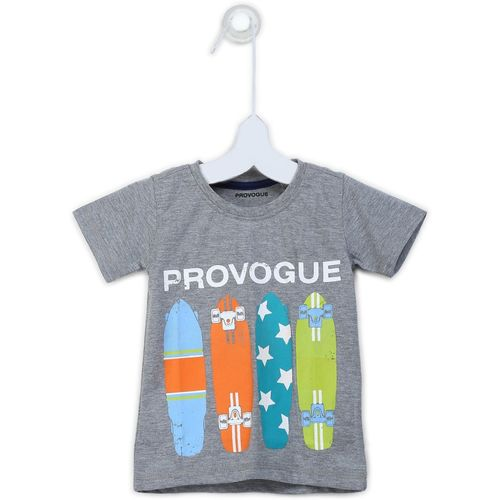 Provogue Boys Printed Cotton T Shirt(Multicolor, Pack of 1)
