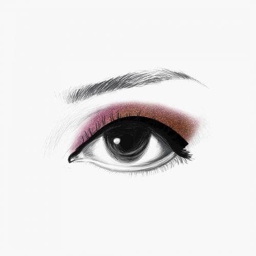 LAKME 9 To 5 Eye Quartet Eye Shadow - Desertrose - 7g
