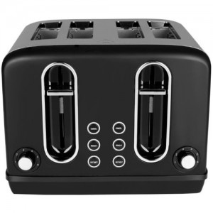 Black & Decker BXTO0401IN 2300 W Pop Up Toaster(Grey)