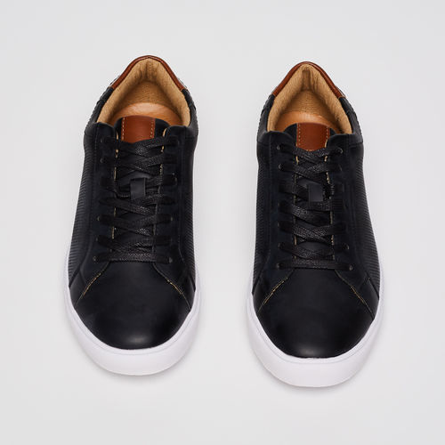 FORCA Laser-Cut Detailed Lace-Up Sneakers