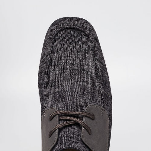 FORCA Textured Lace-Up Sneakers