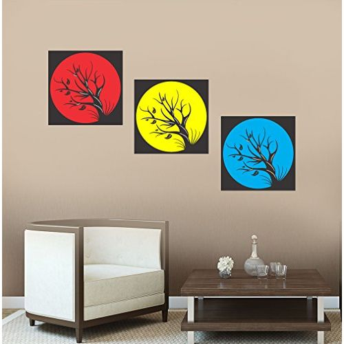 New way Decals Wall Sticker for Living Room - Multicolors of Moon Stickers for Home Dcor