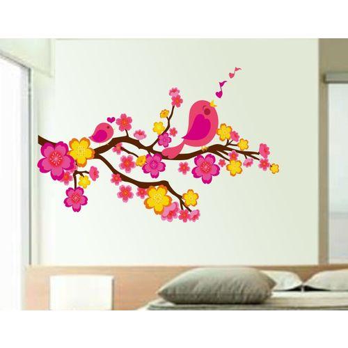 Happy walls Floral & Botanical Wallpaper(45 cm X 70 cm)