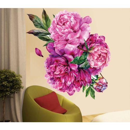 Happy walls Floral & Botanical Wallpaper(70 cm X 65 cm)