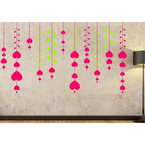 Happy walls Abstract Wallpaper(40 cm X 130 cm)