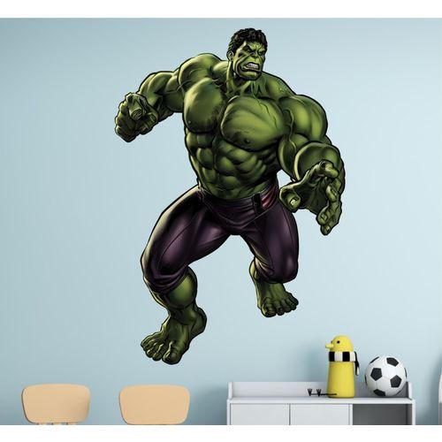 Happy walls Superheroes Wallpaper(80 cm X 55 cm)
