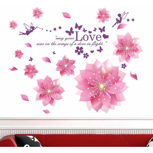 Happy walls Floral & Botanical Wallpaper(70 cm X 90 cm)