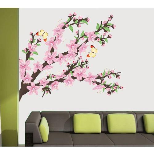 Happy walls Floral & Botanical Wallpaper(70 cm X 70 cm)