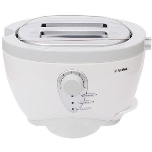 Nova RX-2234CT 800 W Pop Up Toaster(White)