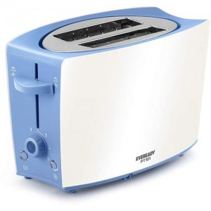 Eveready PT101 750 Pop Up Toaster(Blue)