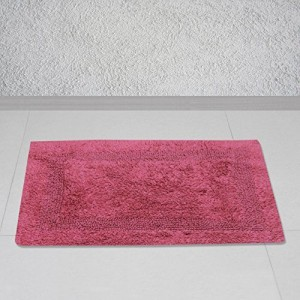 Story@Home Story @ Home Maroon Polyester Royal 1 Pc Door or Bath Mat