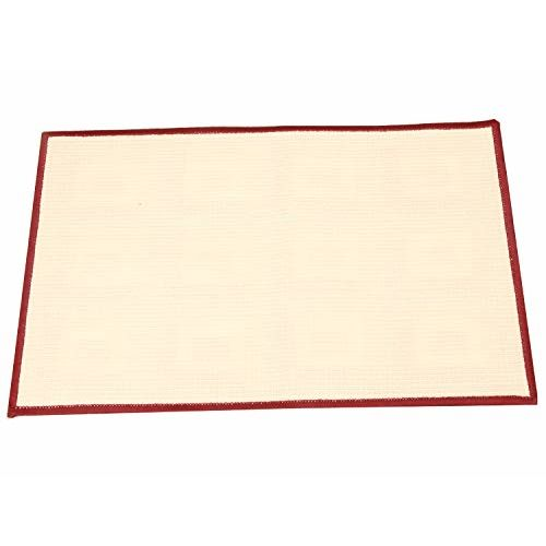 Kuber Industries Flower Design Cotton Door Mat - 27