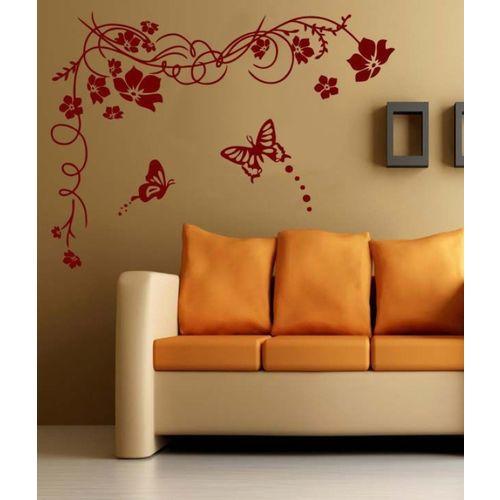 RITZY Floral & Botanical Wallpaper(120 cm X 90 cm)