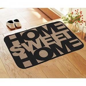 Saral Home Printed Anti Slip Jute Doormat -40x60 cm