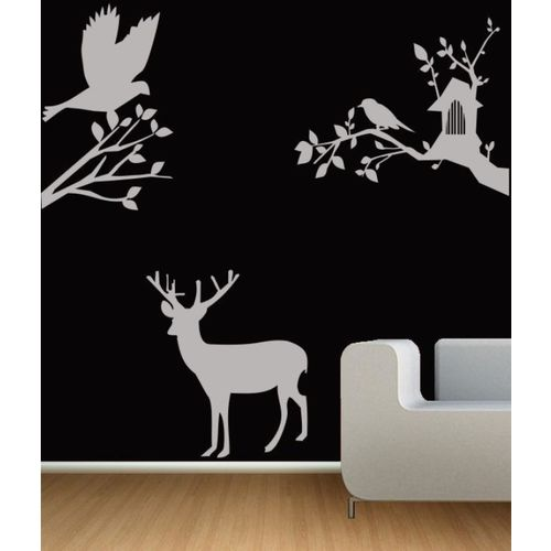 RITZY Animals Wallpaper(90 cm X 90 cm)