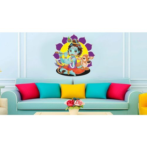 RITZY Religious Wallpaper(90 cm X 90 cm)