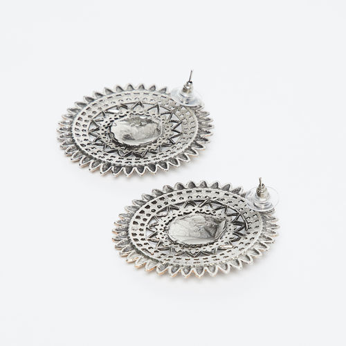 FIDA Art Deco Accent Drop-Earrings