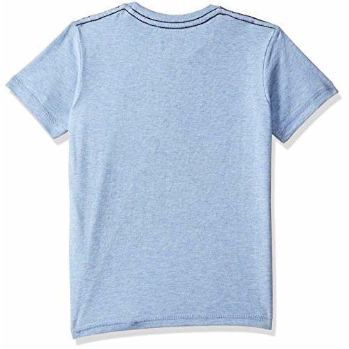 Batman Boys' Plain Regular Fit T-Shirt (BM0GBT591_Allure Blue Mlng_4-5 Years)