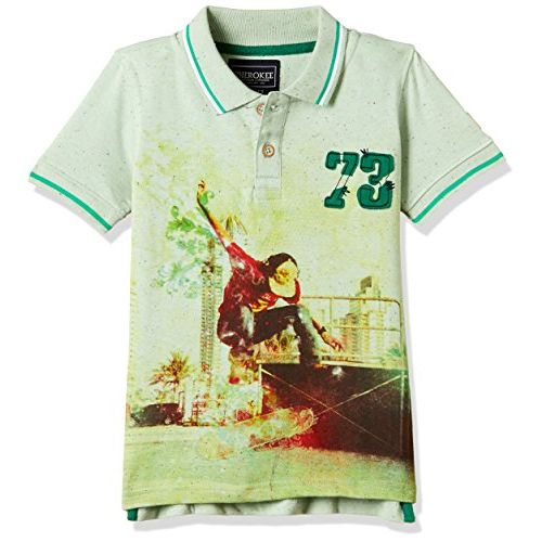 Cherokee by Unlimited Boys' T-Shirt (271292041_MINT_05Y_HS)