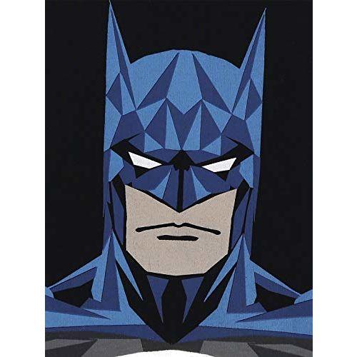 Batman Boys' Plain Regular Fit T-Shirt (BM0GBT600_Black_2-3 Years)