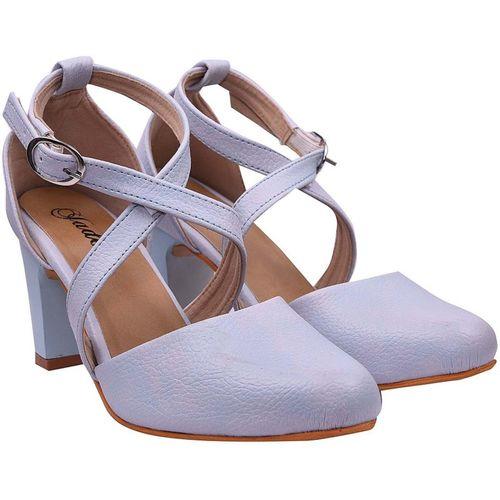 Jade Women Blue Heels