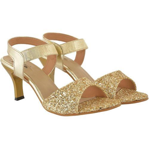 Jade Women Gold Heels