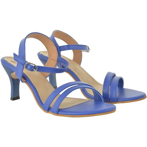 Jade Women Blue Heels