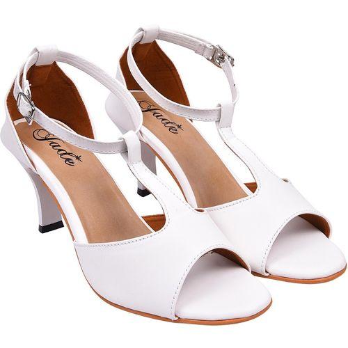 Jade Women White Heels